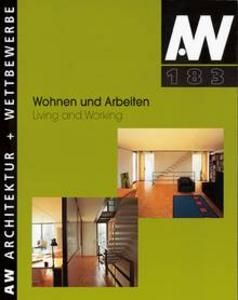 Aw 183 Wohnen Und Arbeiten Aw Architektur Wettbewerbe